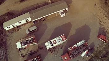 The real MAN Dakar truck testing