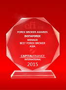 Capital Finance International  - Cel mai Bun Broker din Asia 2015