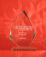 UK Forex Awards тұжырымы бойынша 2014 жылдың Үздік ECN брокері