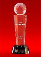 International Finance Awards тұжырымы бойынша 2016 ж. Азияның үздік ECN-брокері