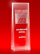 European CEO Awards тұжырымы бойынша 2013 жылдың Үздік жаһандық ритейл-брокері