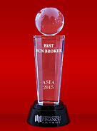 International Finance Magazine тұжырымы бойынша «Үздік ECN брокер - 2015»