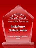 ShowFx World тұжырымы бойынша «Үздік мобильдік Форекс-қосымша  – 2015»
