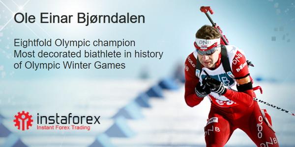 Ole Einar Bjørndalen - the brand ambassador of InstaForex