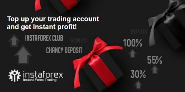 Participate in InstaForex bonus program
