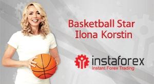 Ilona Korstin is the image of InstaForex